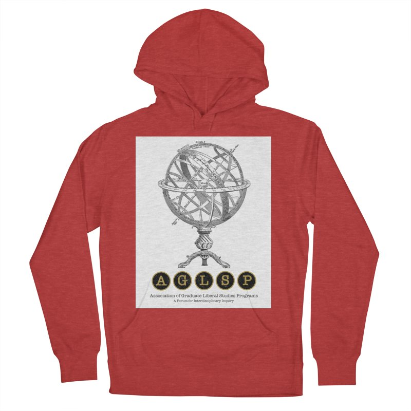 AGLSP Vintage Globe Design Men's French Terry Pullover Hoody by AGLSP's Swag Shoppe