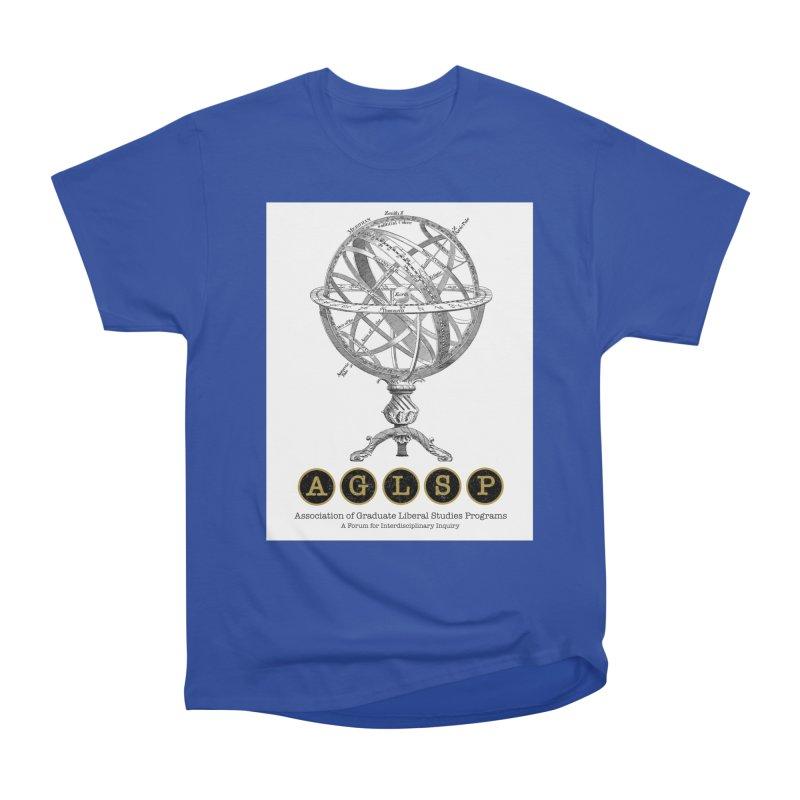 AGLSP Vintage Globe Design Women's Heavyweight Unisex T-Shirt by AGLSP's Swag Shoppe
