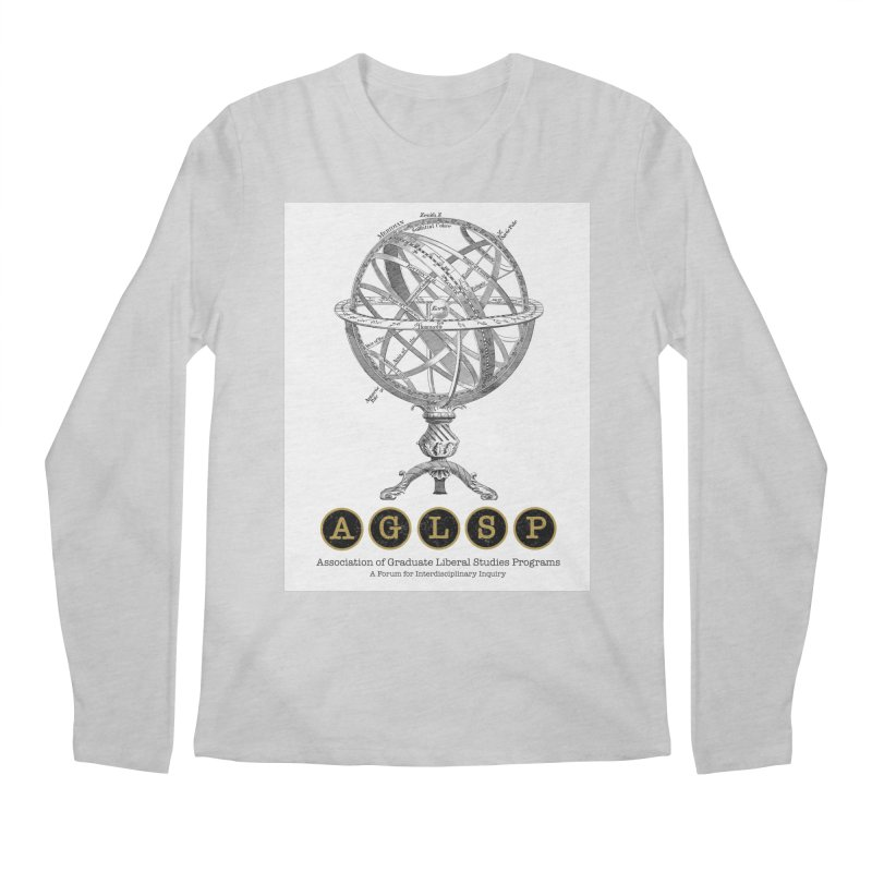 AGLSP Vintage Globe Design Men's Regular Longsleeve T-Shirt by AGLSP's Swag Shoppe
