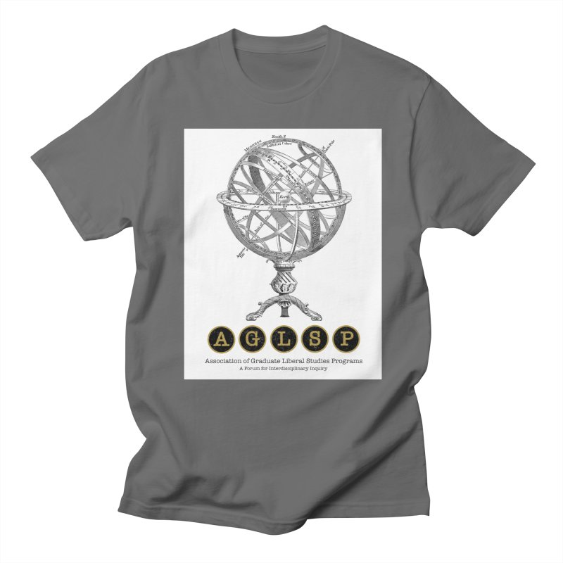 AGLSP Vintage Globe Design Men's Regular T-Shirt by AGLSP's Swag Shoppe