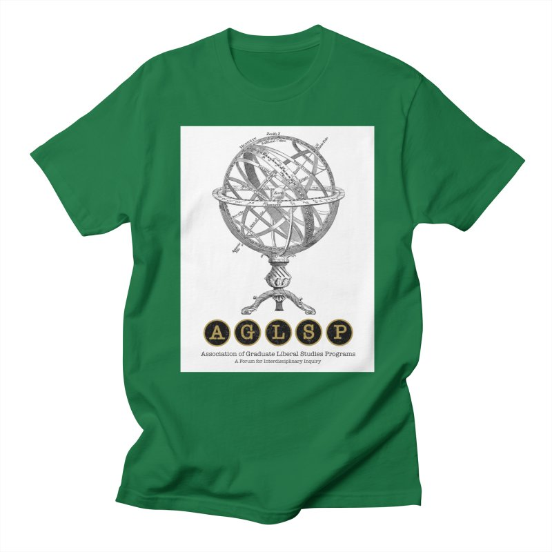 AGLSP Vintage Globe Design Women's Regular Unisex T-Shirt by AGLSP's Swag Shoppe