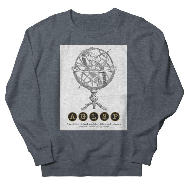 AGLSP Vintage Globe Design Women's French Terry Sweatshirt by AGLSP's Swag Shoppe