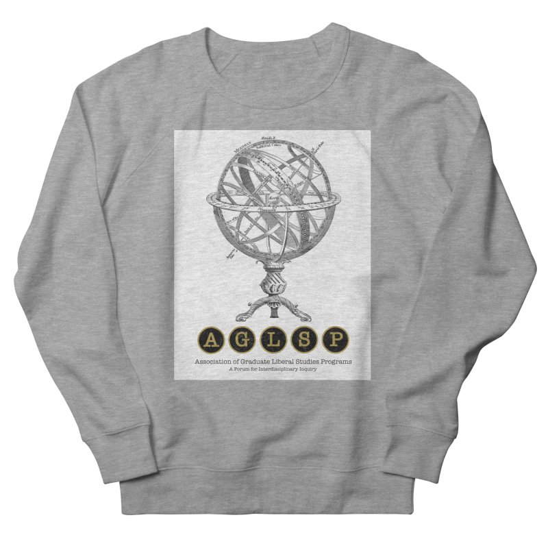 AGLSP Vintage Globe Design Women's French Terry Sweatshirt by AGLSP's Swag Shoppe