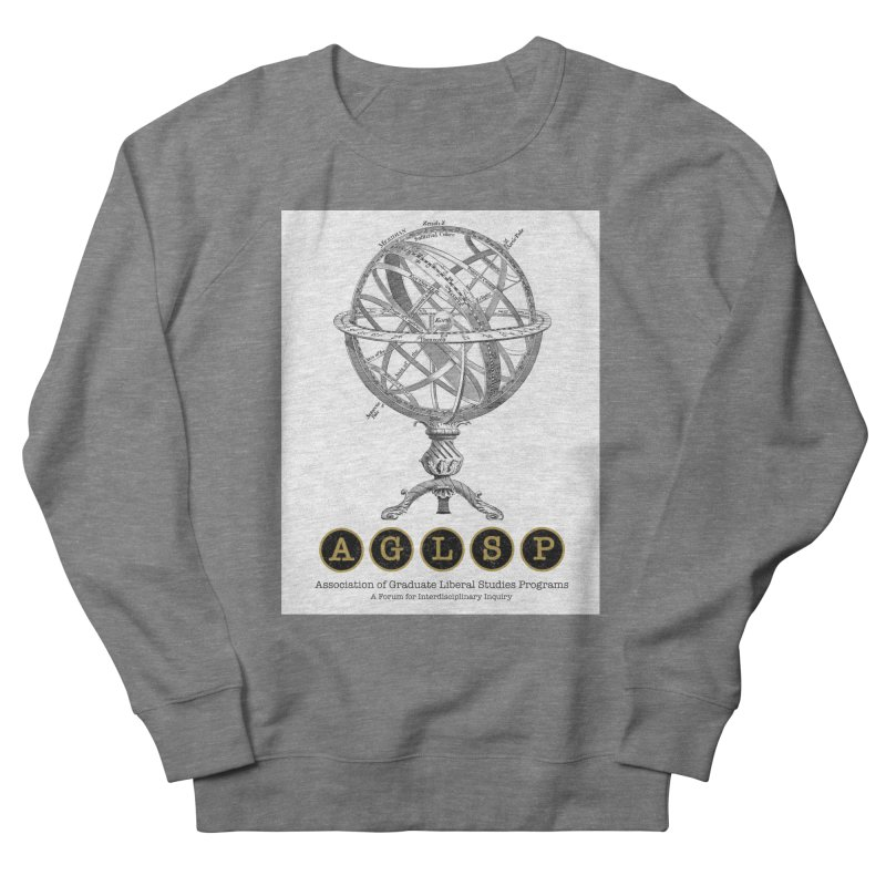 AGLSP Vintage Globe Design Men's French Terry Sweatshirt by AGLSP's Swag Shoppe