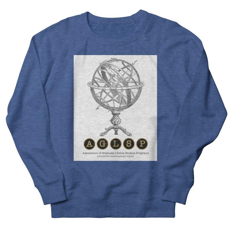 AGLSP Vintage Globe Design Men's French Terry Sweatshirt by AGLSP's Swag Shoppe