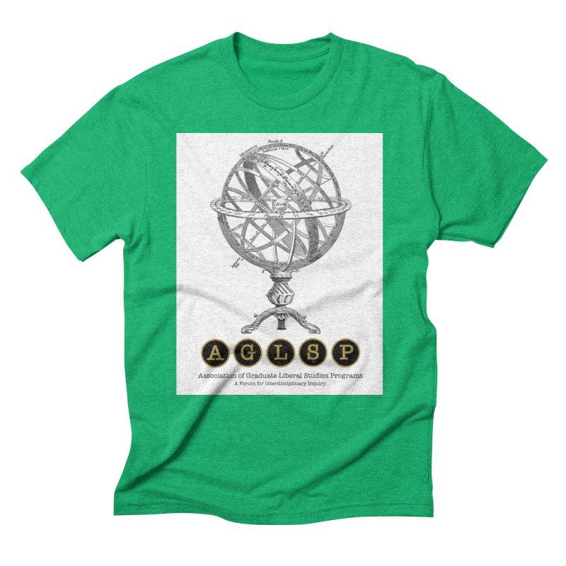 AGLSP Vintage Globe Design Men's Triblend T-Shirt by AGLSP's Swag Shoppe