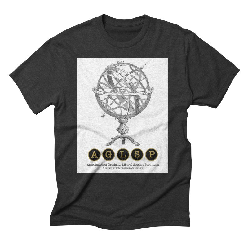 AGLSP Vintage Globe Design Men's Triblend T-Shirt by AGLSP's Swag Shoppe