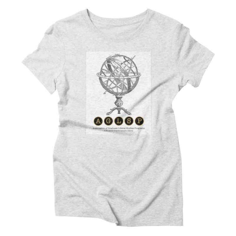AGLSP Vintage Globe Design Women's T-Shirt by AGLSP's Swag Shoppe