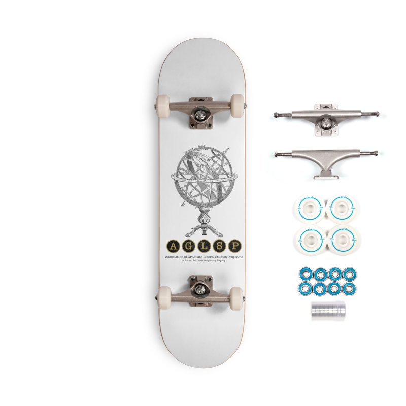 AGLSP Vintage Globe Design Accessories Complete - Basic Skateboard by AGLSP's Swag Shoppe