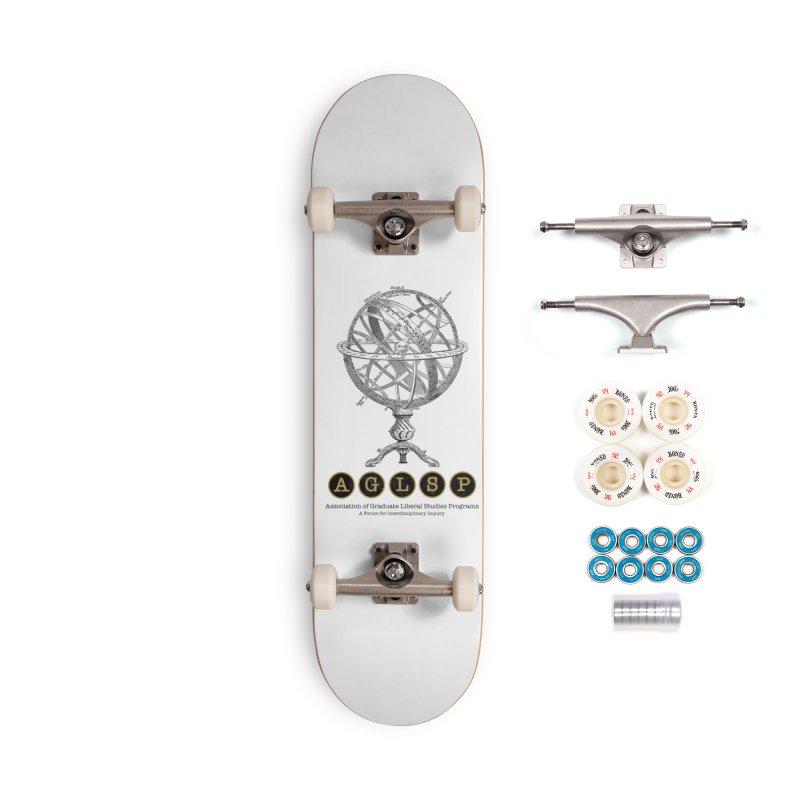 AGLSP Vintage Globe Design Accessories Complete - Premium Skateboard by AGLSP's Swag Shoppe