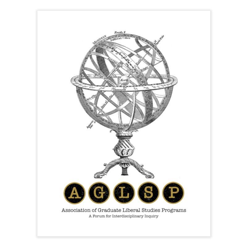 AGLSP Vintage Globe Design Home Fine Art Print by AGLSP's Swag Shoppe