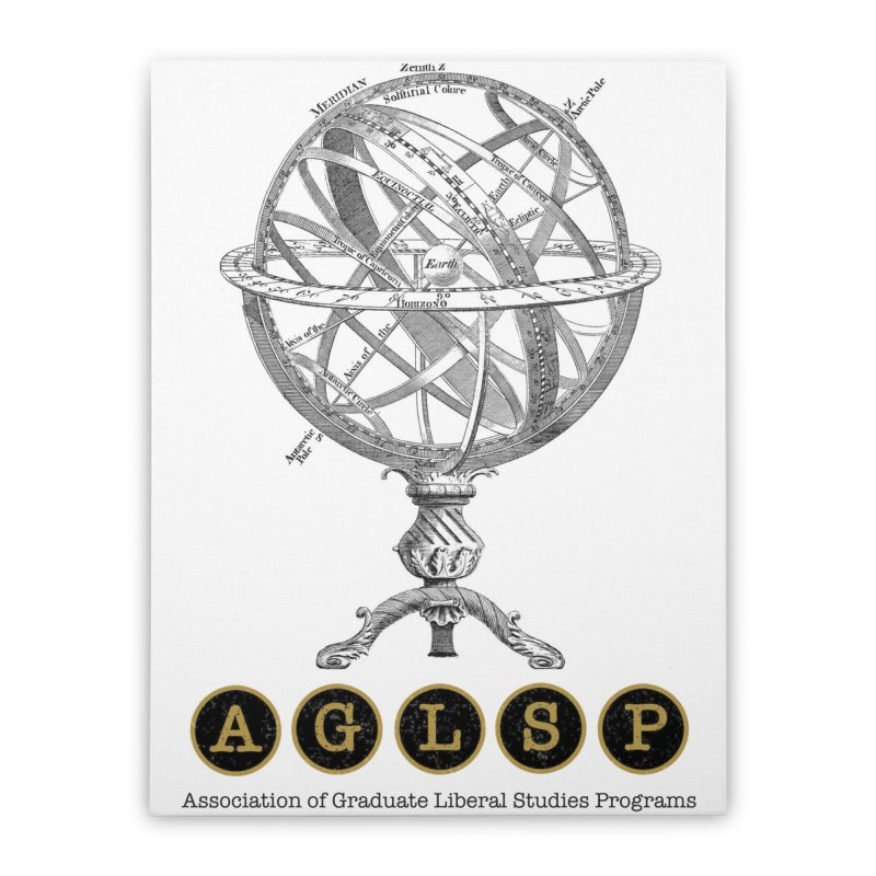 AGLSP Vintage Globe Design Home Stretched Canvas by AGLSP's Swag Shoppe