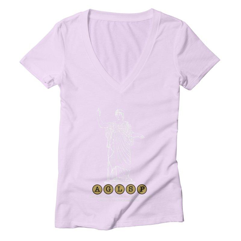 AGLSP Athena Design Women's Deep V-Neck V-Neck by AGLSP's Swag Shoppe