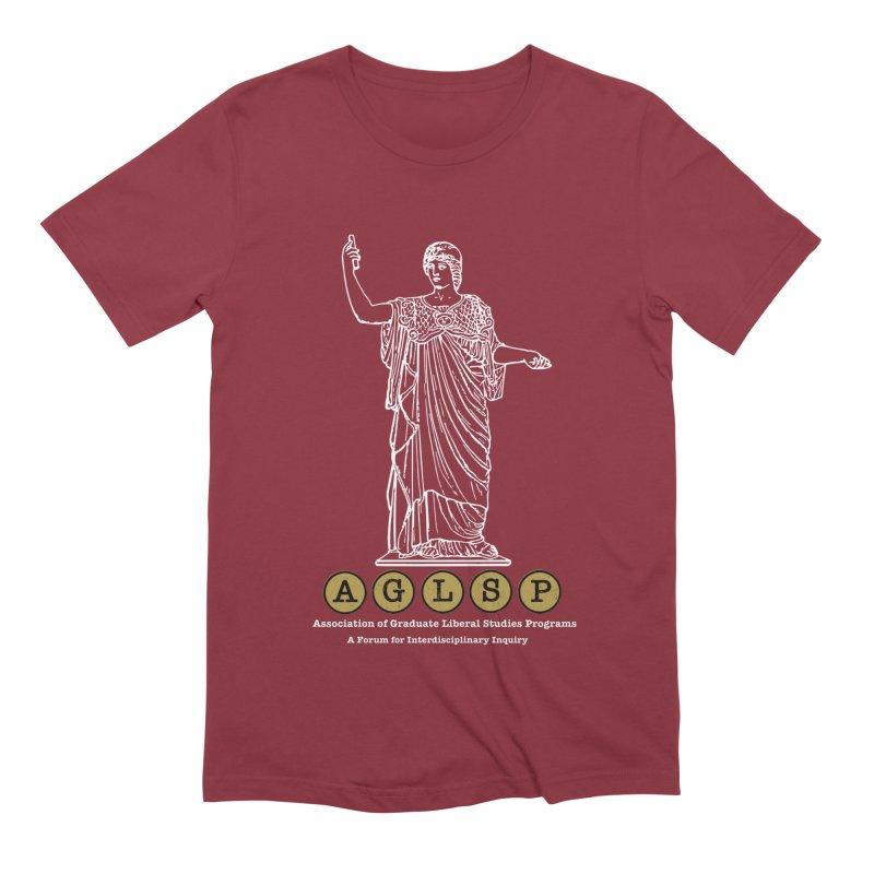 AGLSP Athena Design Men's Extra Soft T-Shirt by AGLSP's Swag Shoppe