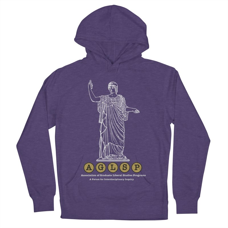 AGLSP Athena Design Men's French Terry Pullover Hoody by AGLSP's Swag Shoppe