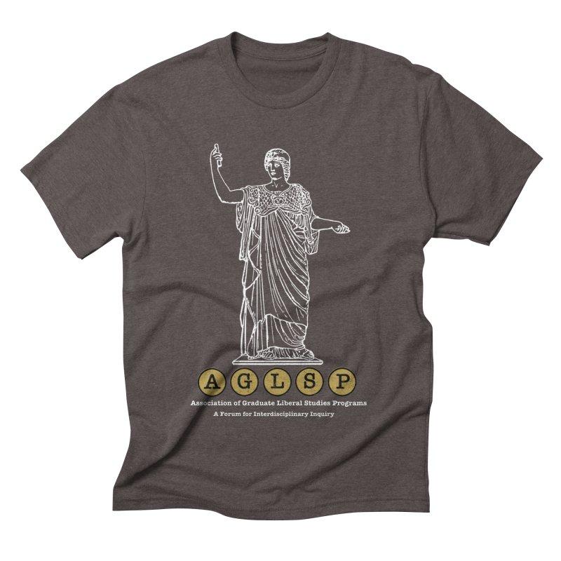 AGLSP Athena Design Men's Triblend T-Shirt by AGLSP's Swag Shoppe