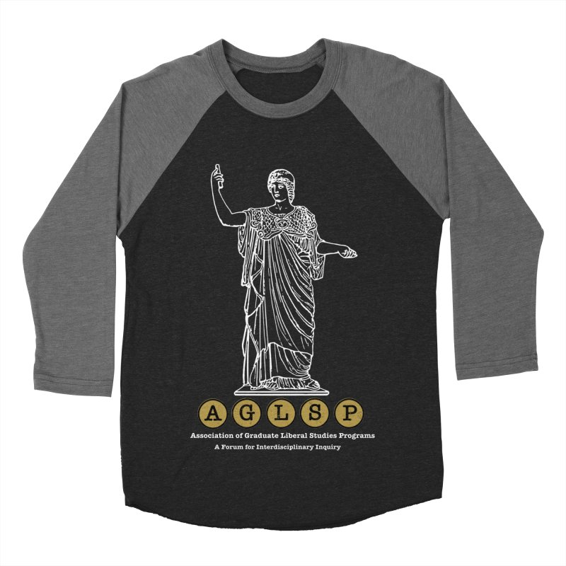 AGLSP Athena Design Men's Baseball Triblend Longsleeve T-Shirt by AGLSP's Swag Shoppe