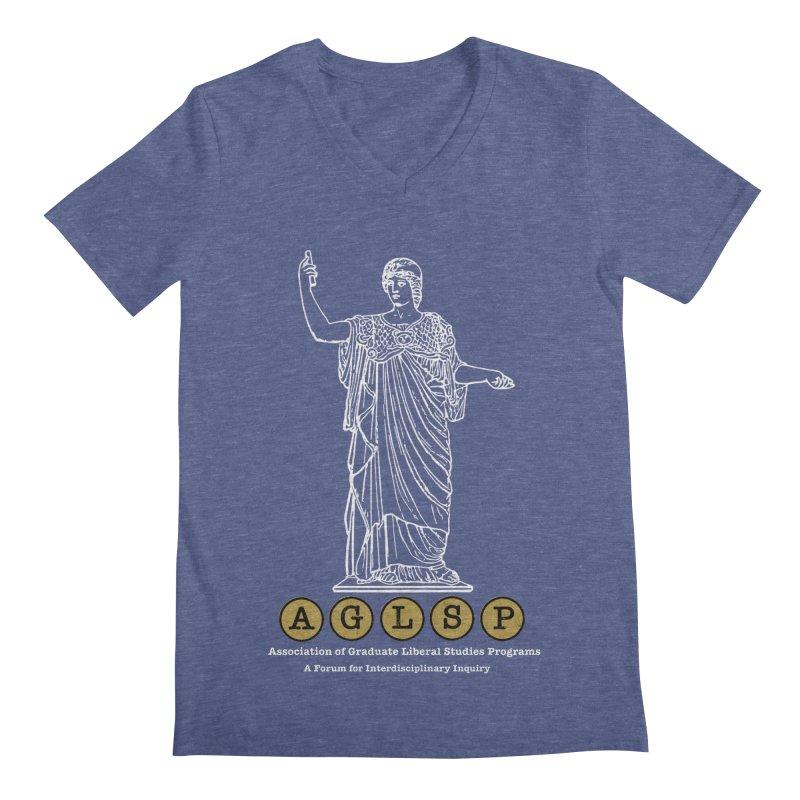 AGLSP Athena Design Men's Regular V-Neck by AGLSP's Swag Shoppe