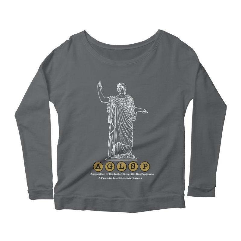 AGLSP Athena Design Women's Scoop Neck Longsleeve T-Shirt by AGLSP's Swag Shoppe