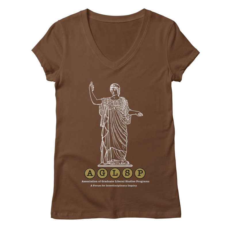 AGLSP Athena Design Women's Regular V-Neck by AGLSP's Swag Shoppe