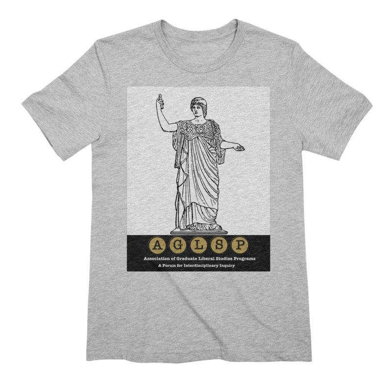 AGLSP Athena Alternate (Black Base) Men's Extra Soft T-Shirt by AGLSP's Swag Shoppe
