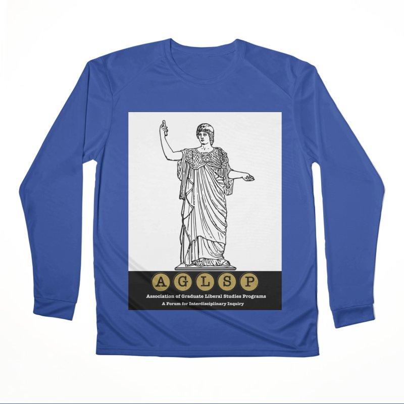 AGLSP Athena Alternate (Black Base) Men's Performance Longsleeve T-Shirt by AGLSP's Swag Shoppe