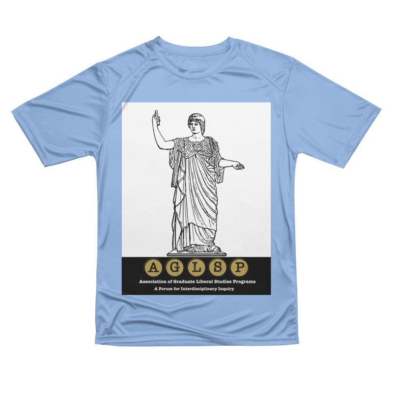 AGLSP Athena Alternate (Black Base) Men's Performance T-Shirt by AGLSP's Swag Shoppe