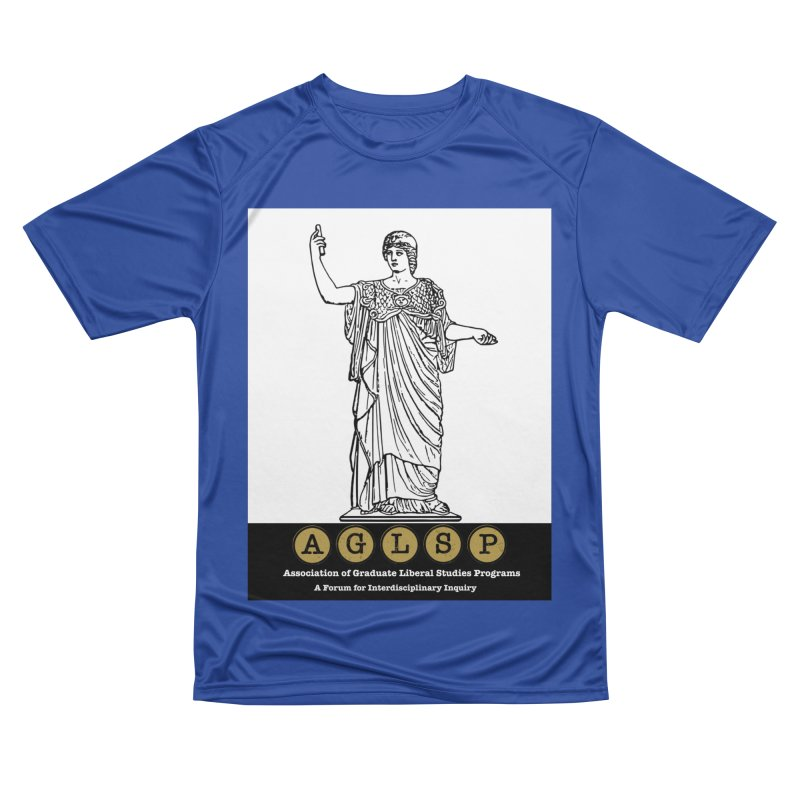 AGLSP Athena Alternate (Black Base) Women's Performance Unisex T-Shirt by AGLSP's Swag Shoppe