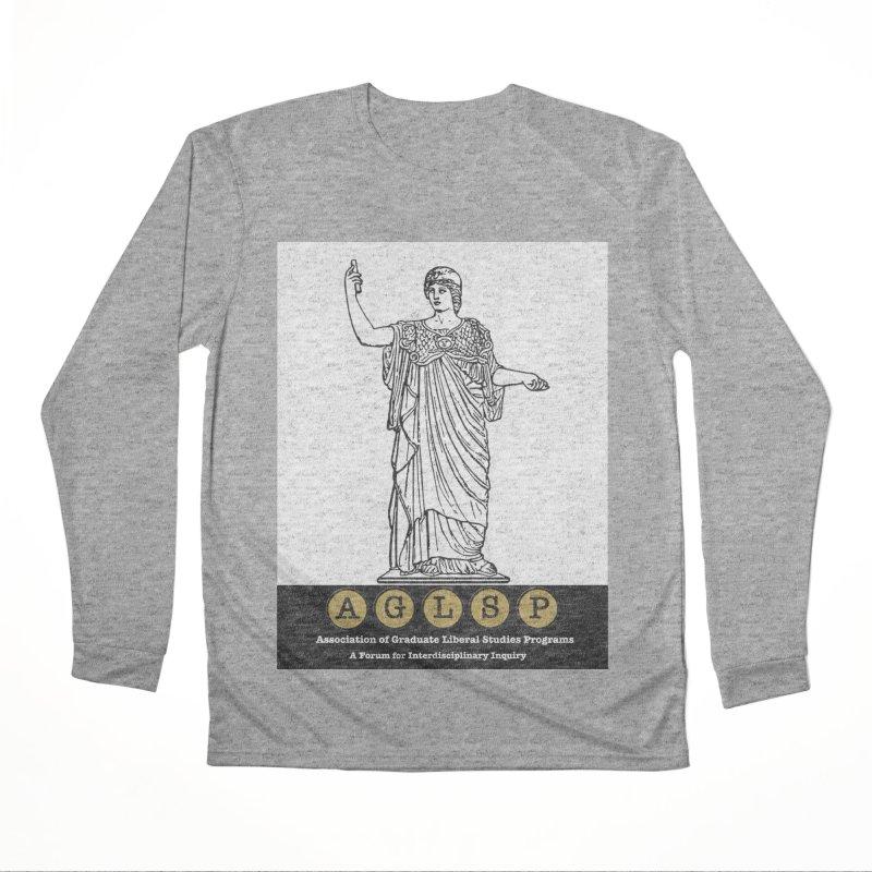 AGLSP Athena Alternate (Black Base) Women's Performance Unisex Longsleeve T-Shirt by AGLSP's Swag Shoppe