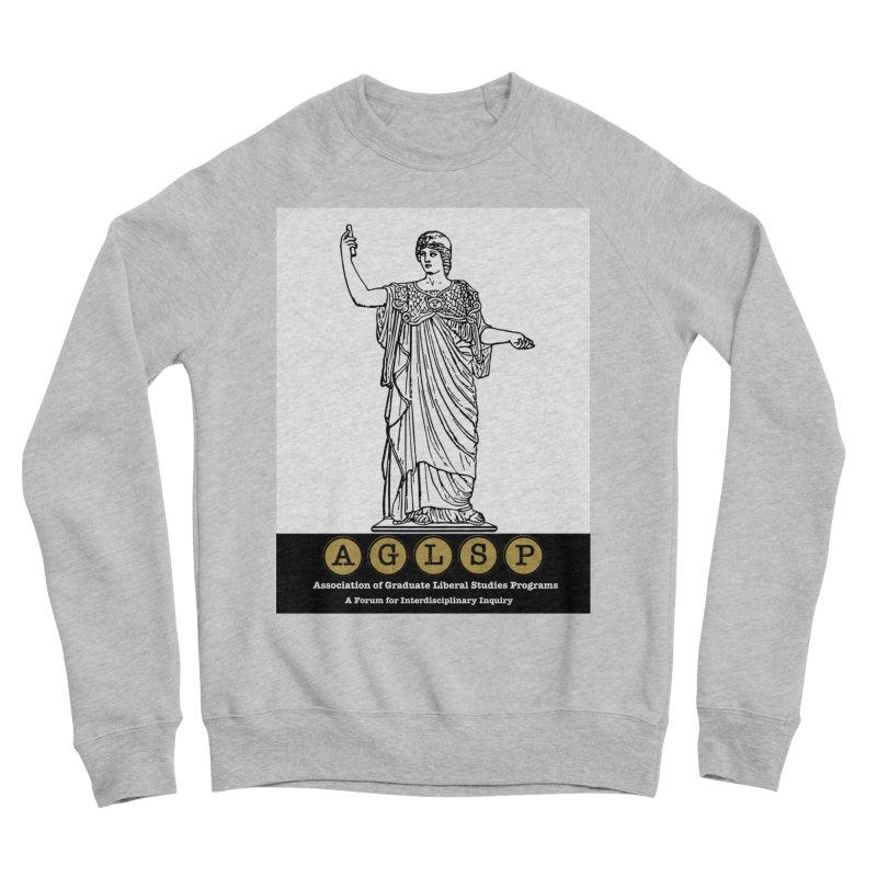 AGLSP Athena Alternate (Black Base) Women's Sponge Fleece Sweatshirt by AGLSP's Swag Shoppe