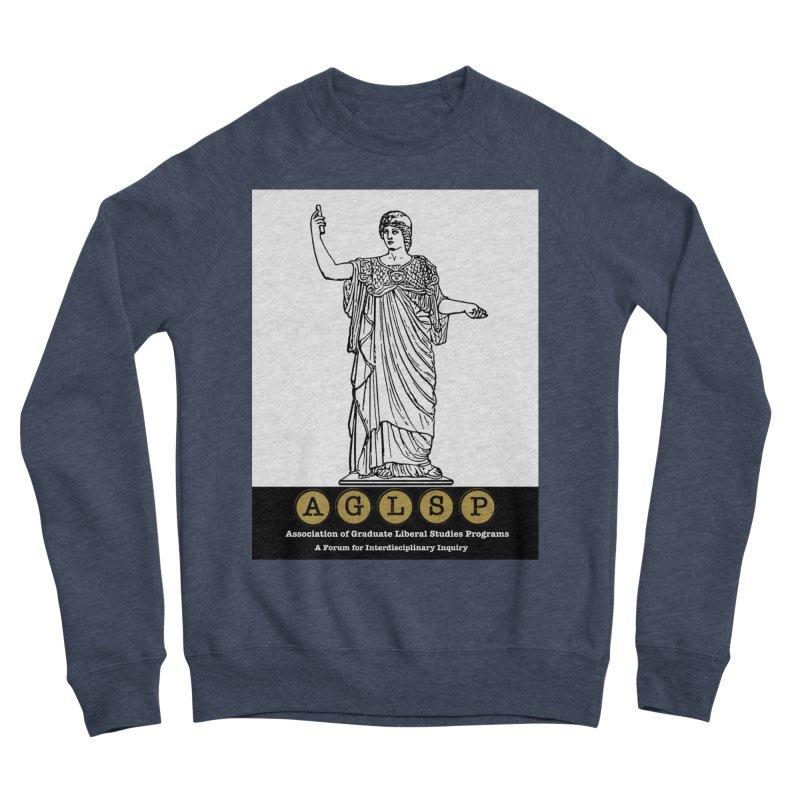 AGLSP Athena Alternate (Black Base) Men's Sponge Fleece Sweatshirt by AGLSP's Swag Shoppe