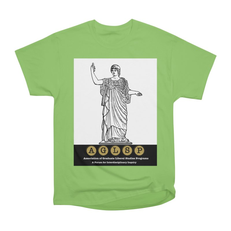 AGLSP Athena Alternate (Black Base) Women's Heavyweight Unisex T-Shirt by AGLSP's Swag Shoppe