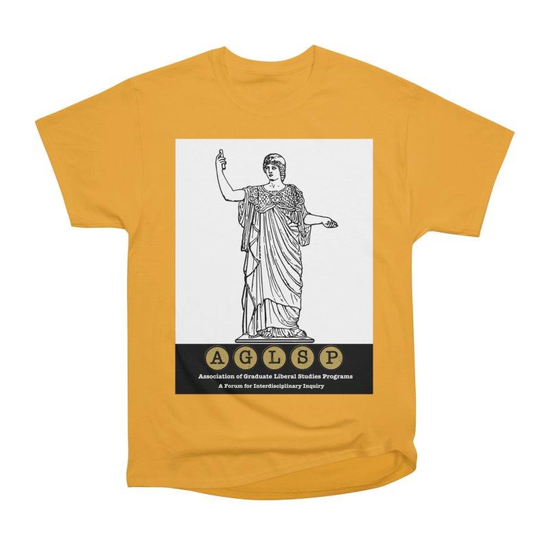 AGLSP Athena Alternate (Black Base) Men's Heavyweight T-Shirt by AGLSP's Swag Shoppe