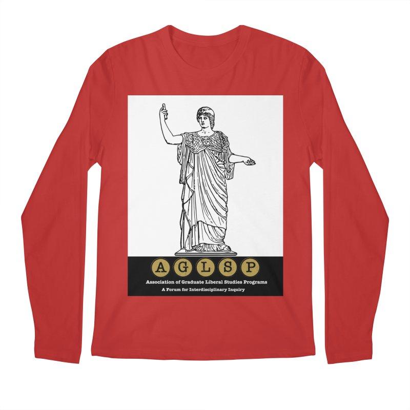 AGLSP Athena Alternate (Black Base) Men's Regular Longsleeve T-Shirt by AGLSP's Swag Shoppe