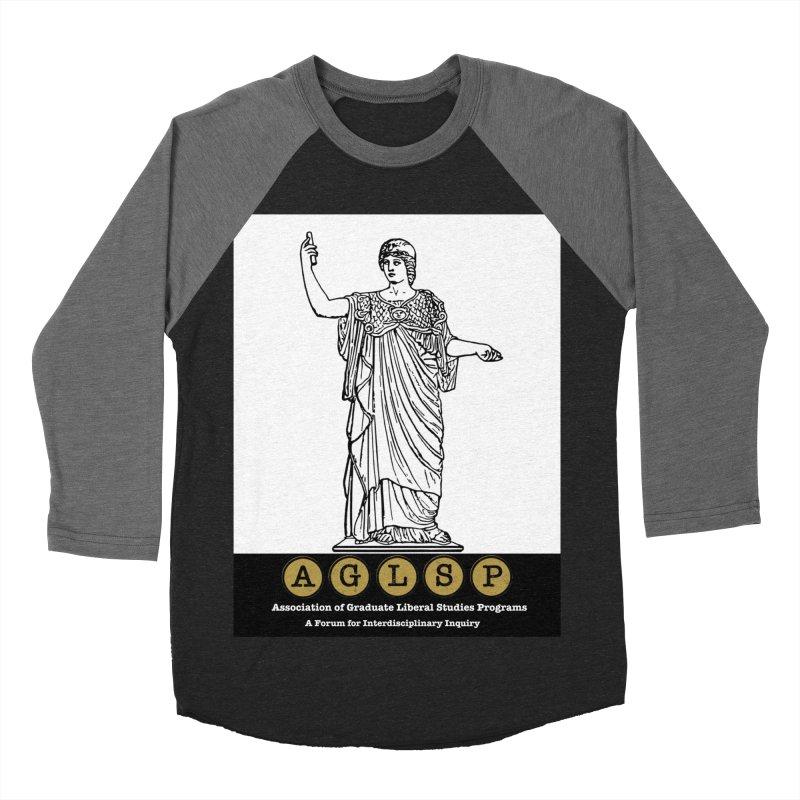 AGLSP Athena Alternate (Black Base) Women's Baseball Triblend Longsleeve T-Shirt by AGLSP's Swag Shoppe