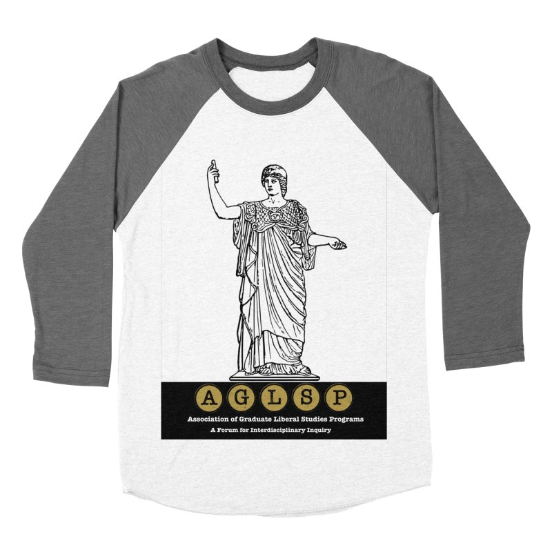 AGLSP Athena Alternate (Black Base) Men's Baseball Triblend Longsleeve T-Shirt by AGLSP's Swag Shoppe