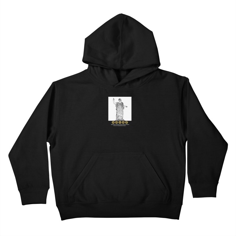 AGLSP Athena Alternate (Black Base) Kids Pullover Hoody by AGLSP's Swag Shoppe