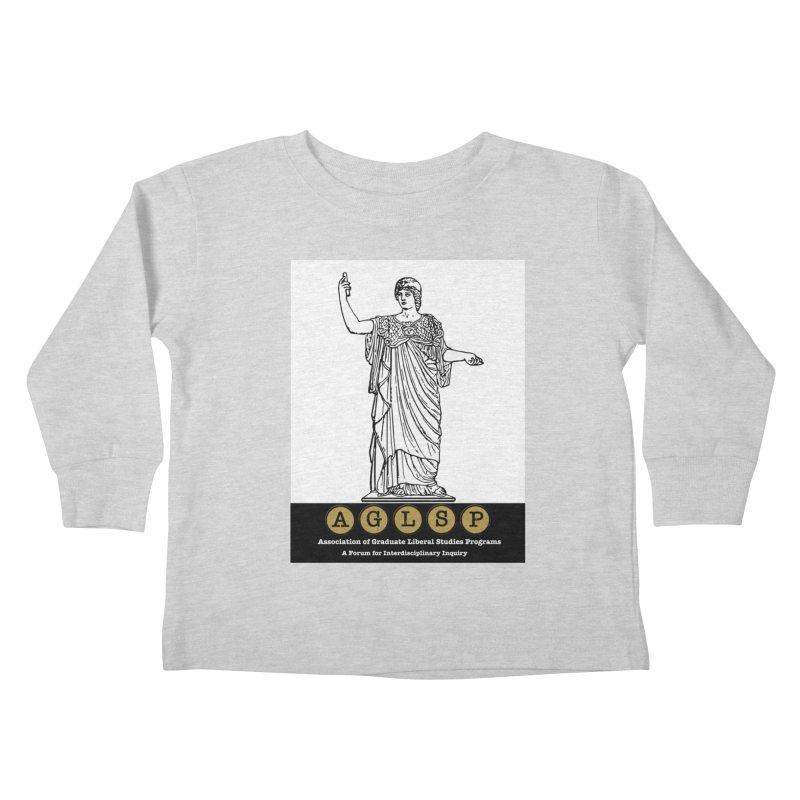 AGLSP Athena Alternate (Black Base) Kids Toddler Longsleeve T-Shirt by AGLSP's Swag Shoppe