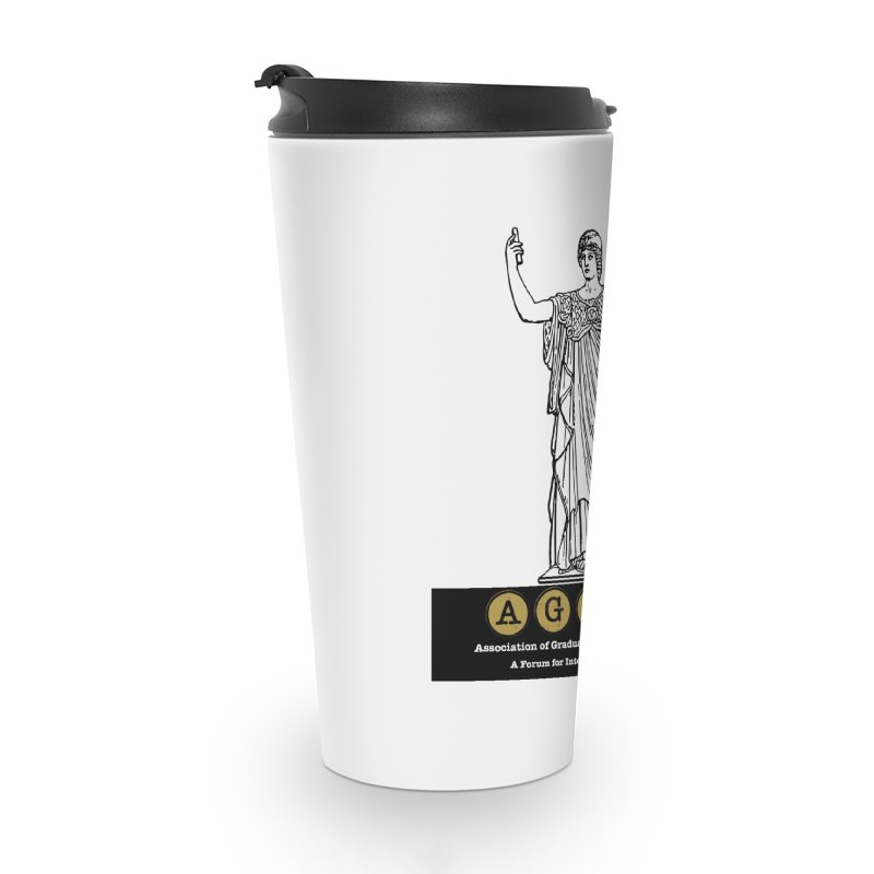 AGLSP Athena Alternate (Black Base) Accessories Travel Mug by AGLSP's Swag Shoppe