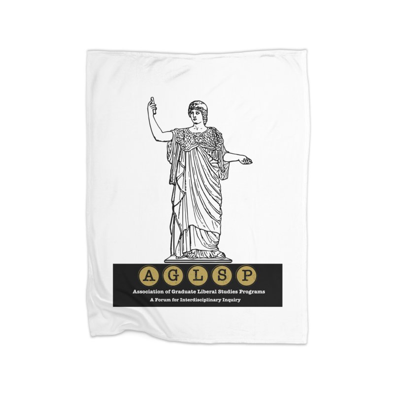 AGLSP Athena Alternate (Black Base) Home Fleece Blanket Blanket by AGLSP's Swag Shoppe