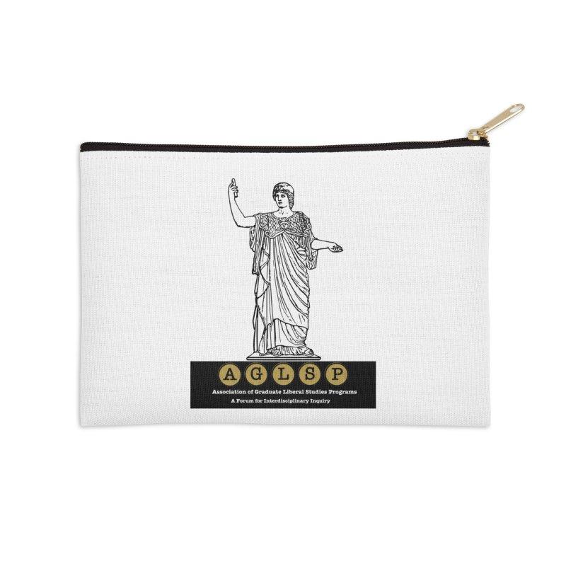 AGLSP Athena Alternate (Black Base) Accessories Zip Pouch by AGLSP's Swag Shoppe