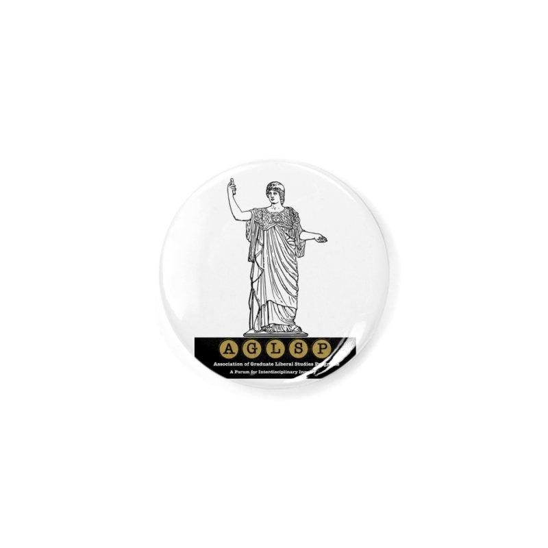 AGLSP Athena Alternate (Black Base) Accessories Button by AGLSP's Swag Shoppe