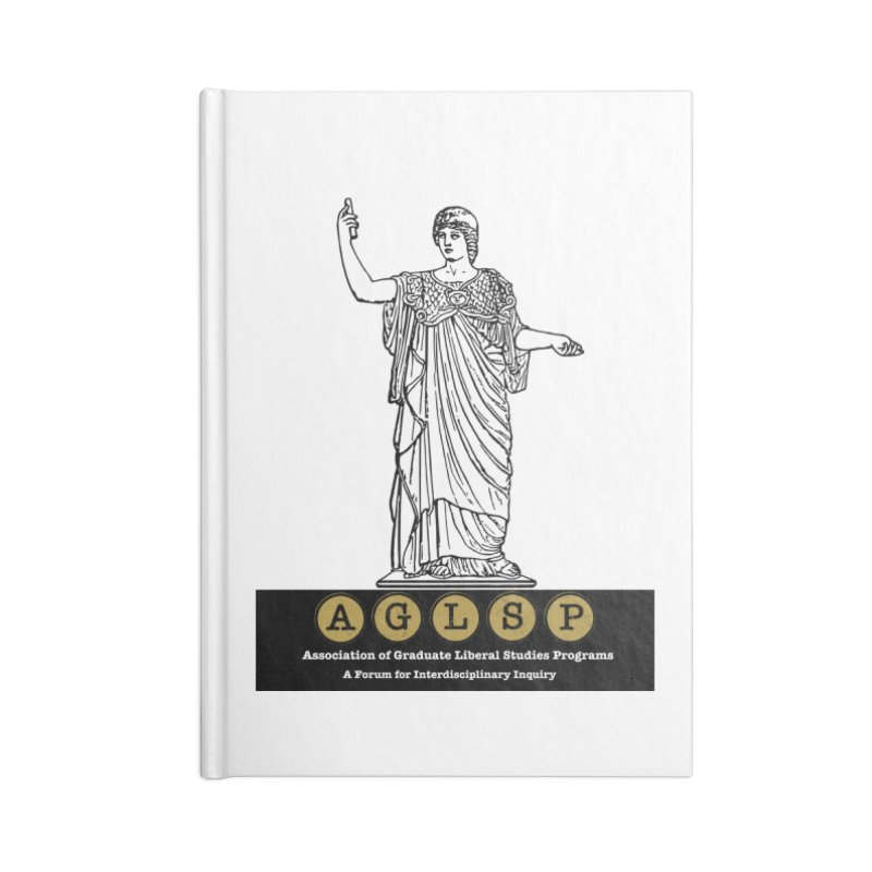 AGLSP Athena Alternate (Black Base) Accessories Blank Journal Notebook by AGLSP's Swag Shoppe