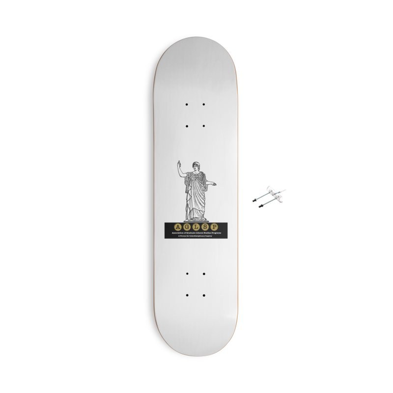 AGLSP Athena Alternate (Black Base) Accessories With Hanging Hardware Skateboard by AGLSP's Swag Shoppe