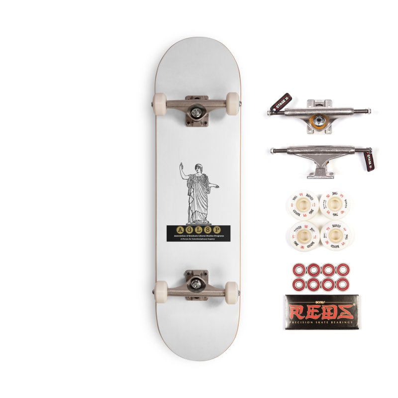 AGLSP Athena Alternate (Black Base) Accessories Complete - Pro Skateboard by AGLSP's Swag Shoppe