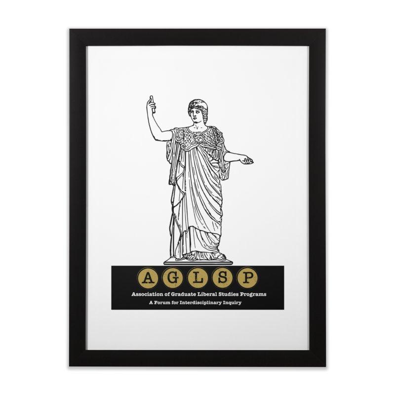 AGLSP Athena Alternate (Black Base) Home Framed Fine Art Print by AGLSP's Swag Shoppe