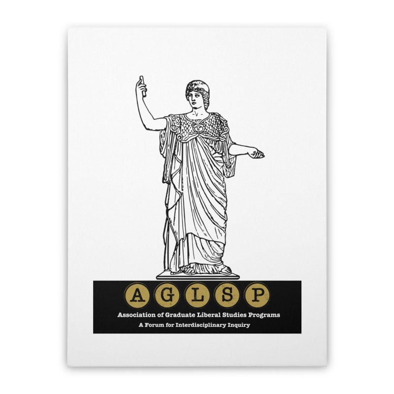 AGLSP Athena Alternate (Black Base) Home Stretched Canvas by AGLSP's Swag Shoppe