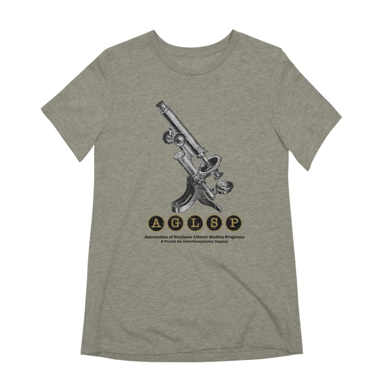 Microscopes Are Us! A New AGLSP Design Women's Extra Soft T-Shirt by AGLSP's Swag Shoppe