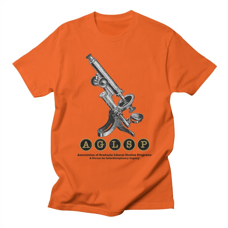 Microscopes Are Us! A New AGLSP Design Men's T-Shirt by AGLSP's Swag Shoppe