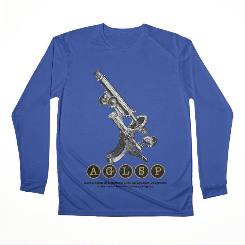 Microscopes Are Us! A New AGLSP Design Men's Performance Longsleeve T-Shirt by AGLSP's Swag Shoppe